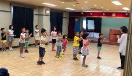 2018年7月14日 神戸市教育委員会後援 リズムダンス体験