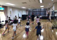 2018年7月30日 神戸市教育委員会後援 リズムダンス体験
